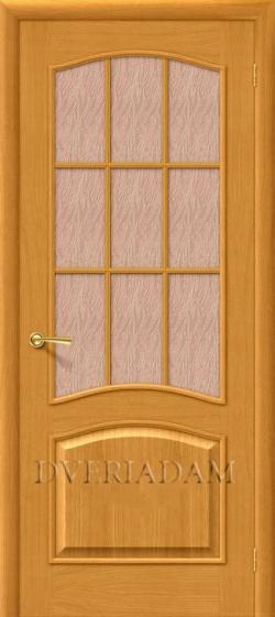 Межкомнатная  дверь Капри-3 ПО дуб