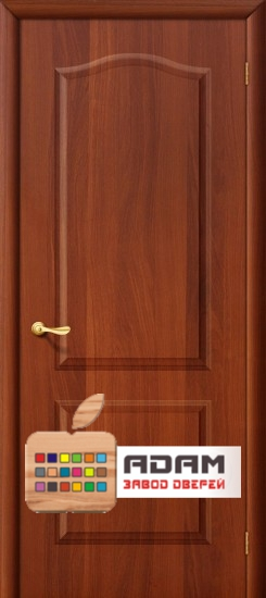 Межкомнатная дверь Палитра-Адам ПГ итальянский орех