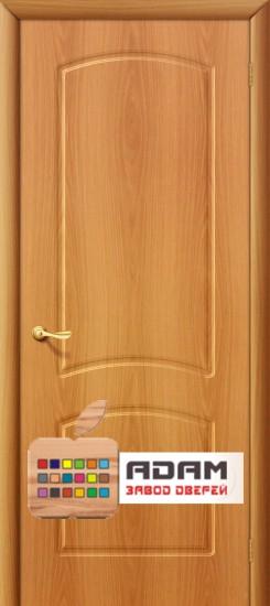 Межкомнатная дверь с ПВХ-пленкой Кэролл ПГ, миланский орех