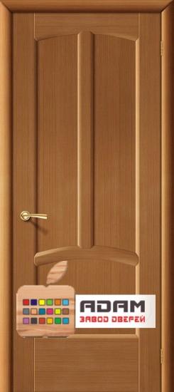 Межкомнатная  шпонированная дверь Ветразь ПГ орех