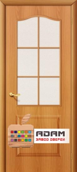 Межкомнатная дверь Палитра-Адам ПО миланский орех