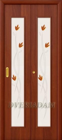 Ламинированная Дверь-книжка 22Х ск Итальянский Орех