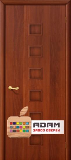 Межкомнатная ламинированная дверь 4Г1 итальянский орех (1 Г)
