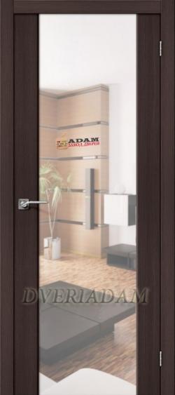 Межкомнатная дверь с Эко шпоном S-13 Reflex Wenge Veralinga