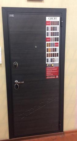 Входная дверь GROFF Т3-300 Black Wood