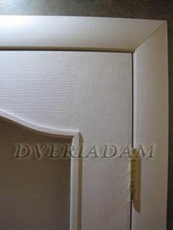 Межкомнатная  дверь Палитра-Адам ПО белая