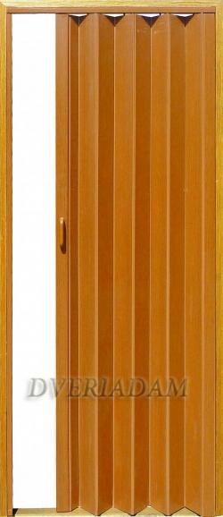 Раздвижная дверь-гармошка с мягким соединением, цвет Дуб