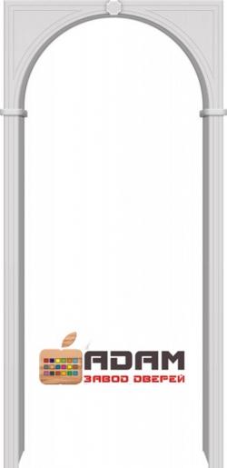 Межкомнатная ПВХ арка Б-1 Белый
