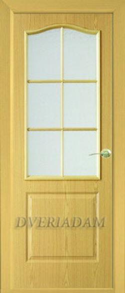 Межкомнатная  дверь Палитра-Адам  ПО дуб