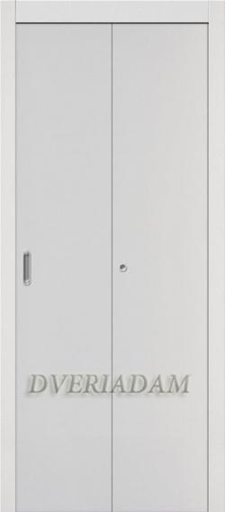 Ламинированная Дверь-книжка ГостАдам Белый
