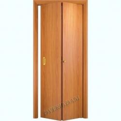 Ламинированная Дверь-книжка ГостАдам Миланский Орех