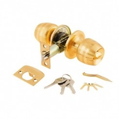 Дверная ручка-защелка 3091 РВ Золото
