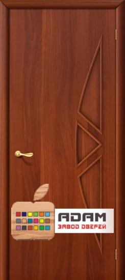 Межкомнатная ламинированная дверь 4Г15 итальянский орех (15 Г)