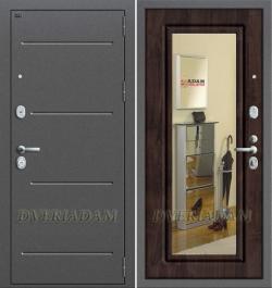 Входная дверь GROFF P2-206 П-28 Темная Вишня (серия Premium)