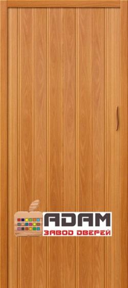 Межкомнатная раздвижная дверь (Гармошка) АДАМ-008 миланский орех