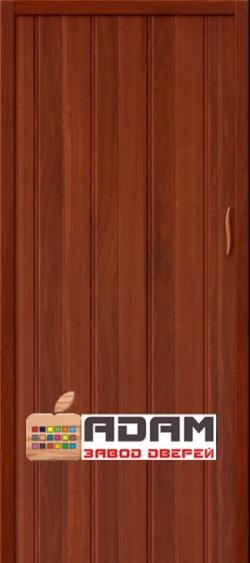 Межкомнатная раздвижная дверь (Гармошка) Адам-008 итальянский орех