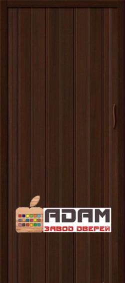 Межкомнатная раздвижная дверь (Гармошка) Адам-008 венге