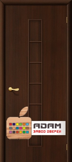 Межкомнатная ламинированная дверь 4Г2, венге (2 Г)