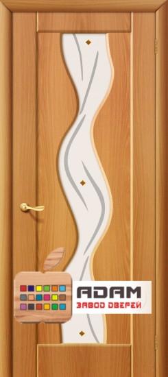 Межкомнатная дверь с ПВХ-пленкой Вираж ПО, миланский орех