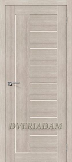 Межкомнатная дверь с эко шпоном  Порта-29 ПО Cappuccino Veralinga