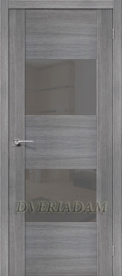 Межкомнатная дверь с Эко шпоном VG2 Grey Veralinga