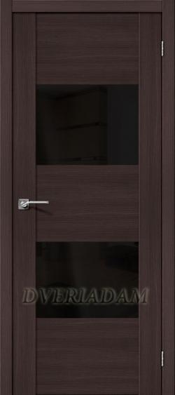Межкомнатная дверь с Эко шпоном VG2 Wenge Veralinga Black Star
