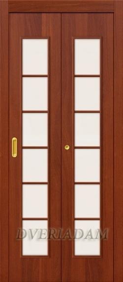 Ламинированная Дверь-книжка 2С ск Итальянский Орех