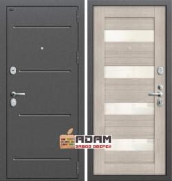 Входная дверь GROFF Т2-223 Cappuccino Veralinga/White Pearl (95мм) (серия Technics)