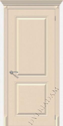 Межкомнатная окрашенная дверь Блюз пг крем