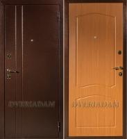 Стальная дверь Классика Альфа Миланский орех