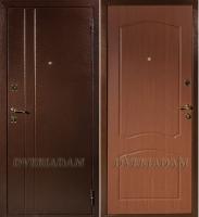 Стальная дверь Классика Альфа Итальянский орех