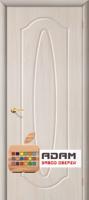 Межкомнатная дверь с ПВХ-пленкой Орбита ПГ, белый лен