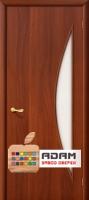 Межкомнатная ламинированная дверь 4С5 итальянский орех (5 С)