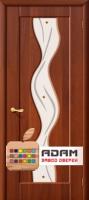 Межкомнатная дверь с ПВХ-пленкой Вираж ПО, итальянский орех