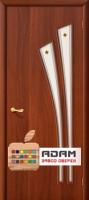 Межкомнатная ламинированная дверь 4С4Ф итальянский орех (4 Ф)