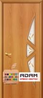 Межкомнатная ламинированная дверь 4С15ф миланский орех (15 Ф)