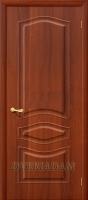 Межкомнатная дверь с ПВХ-пленкой Модена ПГ, итальянский орех