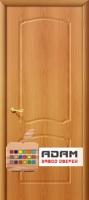 Межкомнатная дверь с ПВХ-пленкой Альфа ПГ, миланский орех
