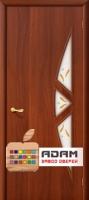 Межкомнатная ламинированная дверь 4С15ф итальянский орех (15 Ф)