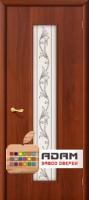 Межкомнатная ламинированная дверь Тиффани-4 итальянский орех (24 Х)