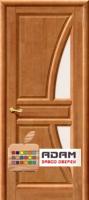 Межкомнатная дверь из массива сосны Моне ПО тон орех