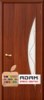 Межкомнатная ламинированная дверь 4С5ф итальянский орех (5 Ф)