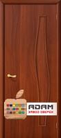 Межкомнатная ламинированная дверь 4Г6 итальянский орех (6 Г)