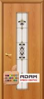 Межкомнатная ламинированная дверь Тиффани-3 миланский орех (23 Х)