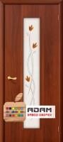 Межкомнатная ламинированная дверь Тиффани-2 итальянский орех (22 Х)