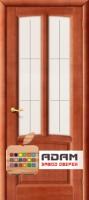 Межкомнатная дверь из Массива ОЛЬХИ Челси ПО махагон