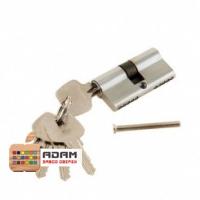 Цилиндр ключ+ключ хром