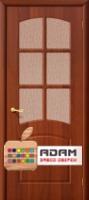 Межкомнатная дверь с ПВХ-пленкой Кэролл ПО, итальянский орех