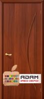 Межкомнатная ламинированная дверь 4Г5 итальянский орех (5 Г)
