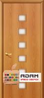 Межкомнатная ламинированная дверь 4С1 миланский орех (1 С)